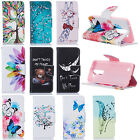 Slim Magnet Pattern Flip Leather Wallet Card Slot Stand Case Cover For LG K7 K8