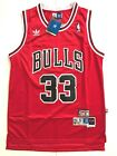 Scottie Pippen #33 Chicago Bulls Red Basketball Jersey Classic Men's NEW