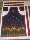 APRON Kitchen PANEL U-SEW Cotton QUILT Fabric U-PICK see listing for details
