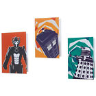 Dr Who Packs Of 10 Greeting Cards Dalek / Tardis / Cyberman Official BBC In Pack