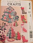 McCall's 5778 : CHRISTMAS STOCKING & Tree decorations paper pattern