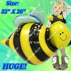 BUGS INSECTS BALLOONS BEE BUTTERFLY Garden Decor Shower Birthday Party Supply Q