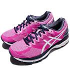 Asics GT-2000 4D Wide Pink Glow Blue Women Running Shoes Trainers T657N-2039