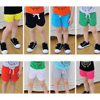 Summer Kids Cotton Shorts Baby Boys Girls Candy Colours Clothing Shorts Nice
