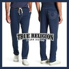NWT Mens True Religion Big T Stitch Jogger Pant True Navy Blue Sweatpants M L XL
