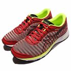 Asics DynaFlyte Red Yellow Black Men Running Shoes Sneakers Trainers T6F3Y-0690