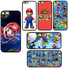 Cute Super Mario Bros Plastic Phone Case Cover For iPhone / Samsung / iPod Touch