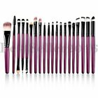 20pcs Pro Makeup Brushes Set Face Eye Shadow Lip Cosmetics B