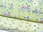 STRAWBERRY BISCUIT FABRIC~BY1/2 YD~2 SELECTIONS~RETRO CATS~DOGS~RABBITS~BERRIES
