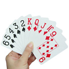 Jumbo Index Playing Cards with Large Numbers for the Weak or Partially Sighted