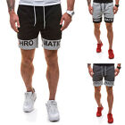 2017 new alphabet Collision color Men's fashionable casual sports shorts