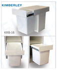 Kitchen Storage Kimberley Single Bin 15L Plastic Waste Bin