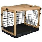 "Pet Geat Deluxe Steel Crate ""The Other Door®"" Free Mat/Pad Tan/Beige SHIPS FREE"