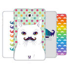 HEAD CASE DESIGNS RAINBOW MOUSTACHE HARD BACK CASE FOR SAMSUNG TABLETS 1