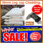 Tanalised Log Lap Garden Shed Cladding 100 x 18mm 120M MINIMUM ORDER 4 DELIVERY