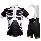 Men Cycling Jersey Light Weight Cycling Clothing Quick Dry Short Sleeve Sets