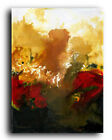 Lg.Canvas & Fine Art Prints Red Burgundy Abstract Contemporary Painting Modern