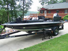 1988 Stratos 279V 18' Bass Boat, with Trailer and 175 Johnson for Parts