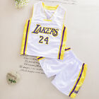 1-7 years Basketball Short Sleeve Kid boy Youth Team Suit Sportswear 011