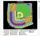 Sports Tickets - 2 Chicago Cubs Vs Miami Marlins Tickets 652017 Wrigley Field SEC 216