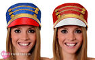 MAJORETTE HAT MARCHING BAND TOY SOLDIER CHRISTMAS FANCY DRESS COSTUME ACCESSORY