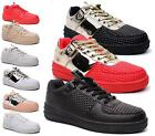 LADIES WOMENS FAUX LEATHER FLAT TRAINERS SKATER SHOES LACE UP SNEAKER PUMPS SIZE