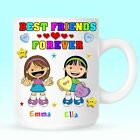 Best Friends BFF Personalised Mug Cup Christmas Birthday Novelty Gift Present
