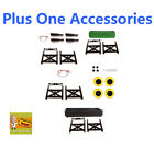 fishing cart wheels - Plus One Cart Mighty Max Parts Accessories Tub Fishing Pole Holders Cargo Wall