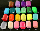 30p 18x25mm rectangle Acrylic stone pointed back faceted crystal rhinestone Bead