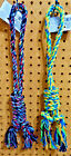 """GREENBRIAR Pet Dog 18"""" Braided Rope Super Knot Chew Tug Teething Toy Multi Color"""