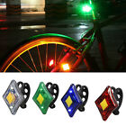 USB Rechargeable LED Bicycle/Cycling Front Rear Tail Light 5 Modes Lamp