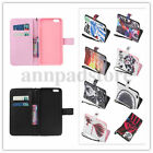 Simple PU Leather Shell Back Flip Wallet Case Cover For Various Smart Phones Hot