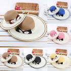 Lady Mother & Daughter Girls Summer Bowknot Beach Straw Sun Hat Cap