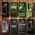 Jeep Luxury expensive Car Logo sport Car UV Case Cover for Samsung Galaxy S,J,A