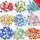 144/1440p ss16 4mm Czech Crystal Rhinestone Round Pointed Foiled Back Decoration