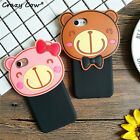 Coque Mode Ours en peluche souple Housse Case iPhone 6/6s plus 7/7plus