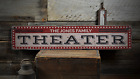 Theater, Home Theater Decor, Movie - Rustic Distressed Wood Sign ENS1001411