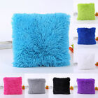 BEST Soft Plush Square Pillow Cushion Case Home Sofa Waist Throw Cushion Cover