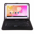 "10.1"" iRULU Tablet PC Google Android 6.0 Quad Core Bluetooth WIFI Pad w/Keyboard"
