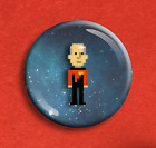 Star Trek Fridge Magnet 25mm (1 inch) - 8 Bit Pixel Design