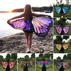 Soft Butterfly Wing Costume Cape Adult Women Teen Girls Halloween Fancy Dress #