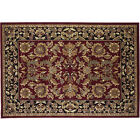 "59""x39"" Kashan Rectangle Fire Resistant Fireplace Hearth Rug Carpet"