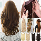 Hidden Invisible Wire Hairpiece Secret Miracle Hair Extensions Real As Human Tnp