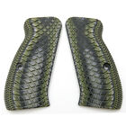 CZ 75 85 Compact Suze Slim G10 Grips Snake Scale Texture Cool Hand H6C-2Pistol - 73944