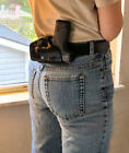 Small of Back Pro SoB Leather Holster Fits M&P Shield Holster .45,Made in USA