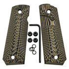 Coolhand 1911 Full Size G10 Grips Big Scoop Mag Release with Free Screws H1-J6BPistol - 73944