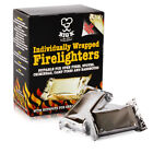 Firelighters Individually Wrapped - BBQ Open Fires, Stoves Chimineas Camp Fires