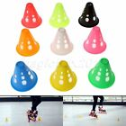 10/20pcs Windproof Skating Slalom Cones Soccer Training Traffic PVC Marker Cups