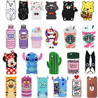 3D Cute Cartoon Animal Soft Silicone Case Cover For Samsung Galaxy S8 / S8Plus