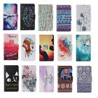 Hot Pattern Magnetic Leather Wallet Case Stand Flip Cover For Samsung Galaxy